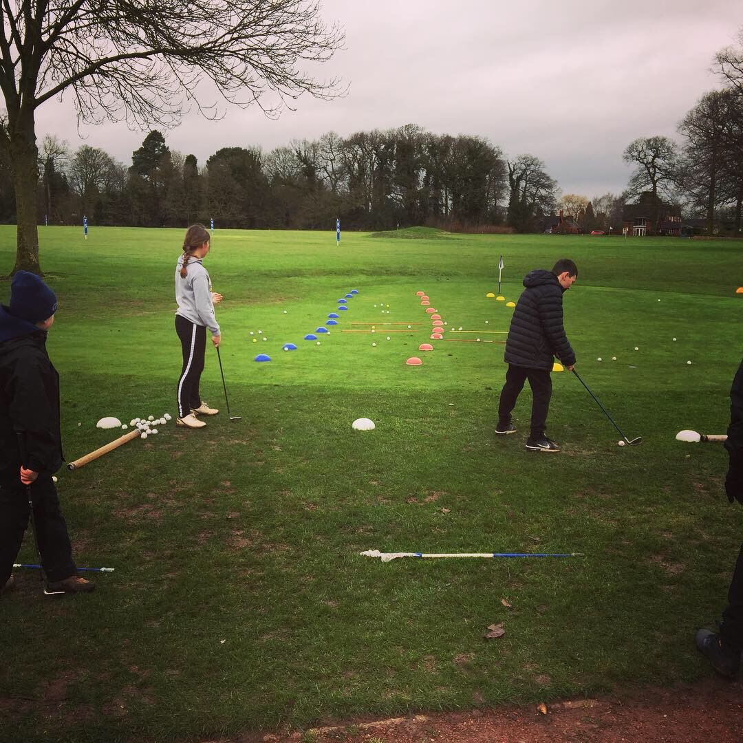 test Twitter Media - Quality from IPGC Awesome Juniors today! Some 'chipping' fun today -divot warm up -practice -'chip' n 'run' (literally) -ladder up -finish with a classic game of 'battleships' #golf #MGSicial @MidlandsGolfer @staffsgolf @GolfRootsHQ @GirlsGolfRocks1 @EnglandGolf @IPGCourseupdate https://t.co/izw13RisYP
