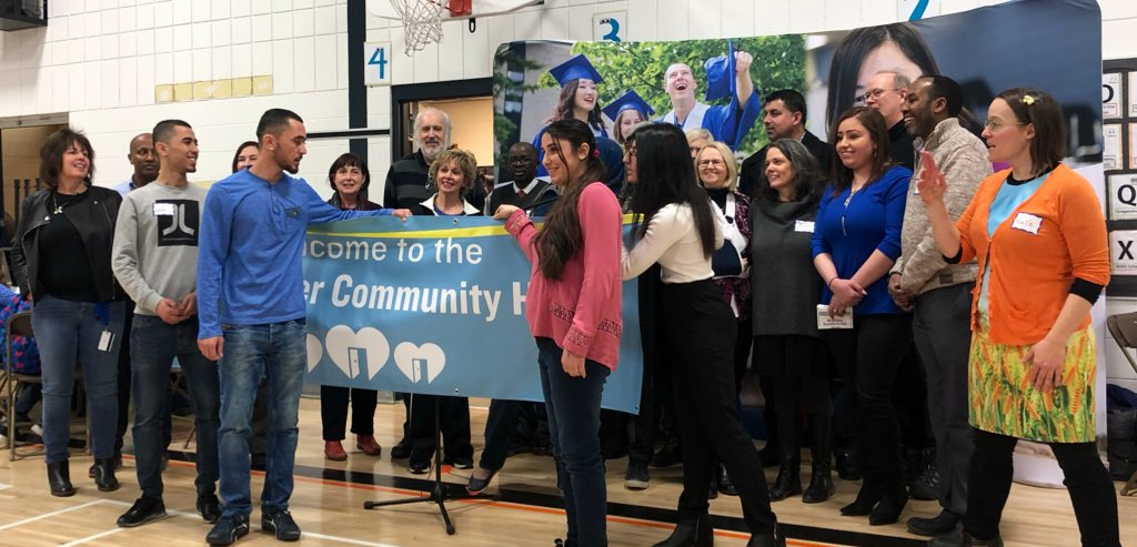 test Twitter Media - The Newcomer Community Hub grand opening was held at Ryerson Elementary School this afternoon, & the room was full of families that benefit from this great initiative. Thank you to all the partners who have worked so hard to make this happen! #mbpoli @PembinaTrails https://t.co/E1h9ngirof