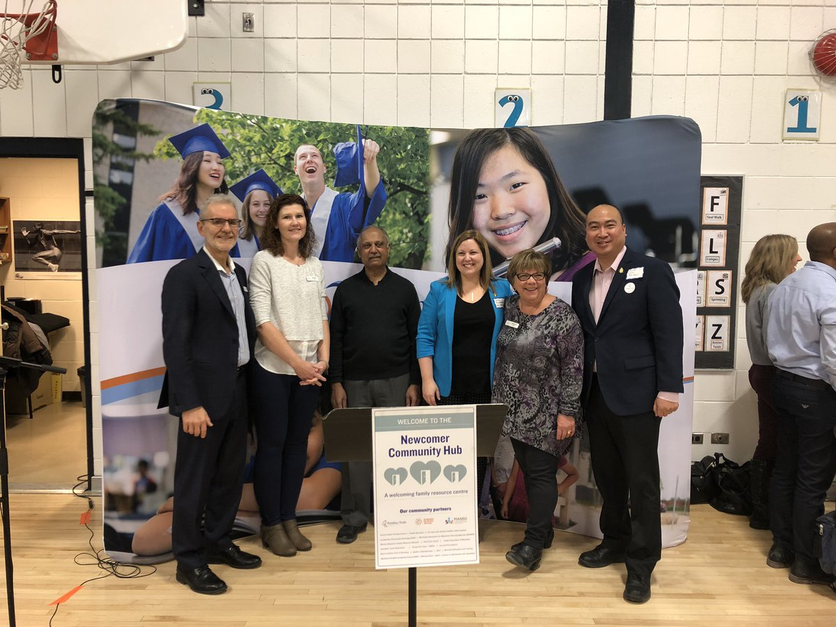 test Twitter Media - A big congratulations to all those involved in the grand opening of the Newcomer Community Hub at @ryelementary. What a great initiative to connect newcomers with the knowledge of resources and support systems to make them truly feel at home in our province. #HomeOfHope #mbpoli https://t.co/78fXHP7rHK