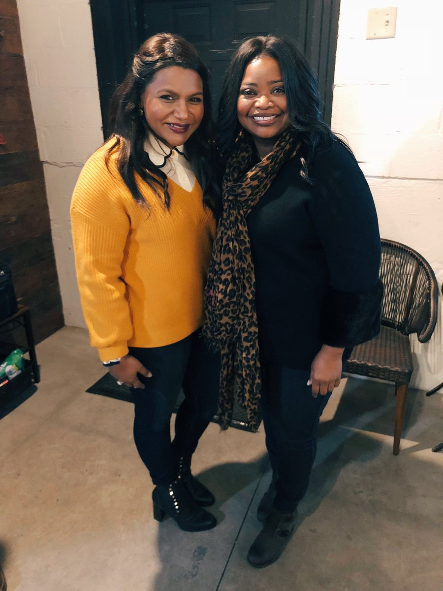 Loved running into this ray of light, @OctaviaSpencer. Excited to see her in #Luce! ???? https://t.co/HFPAy8Cafq
