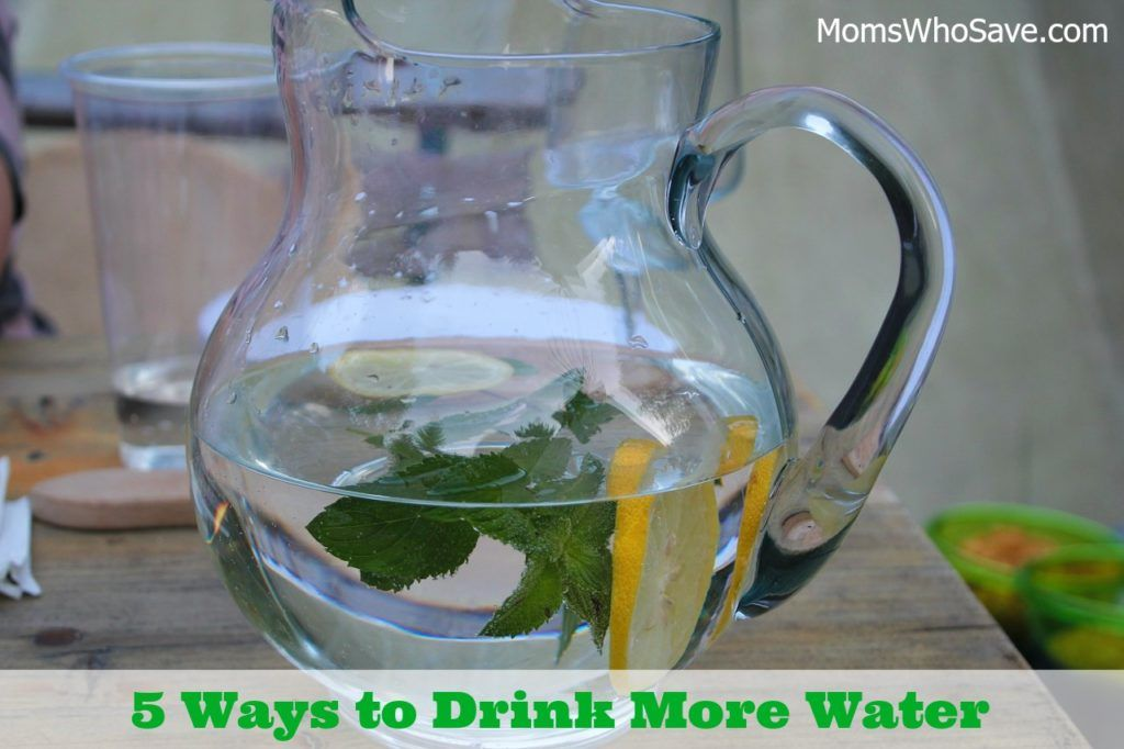 RT @MomsWhoSave: Here are 5 Ways to Drink More Water Every Day  👉    #health #water