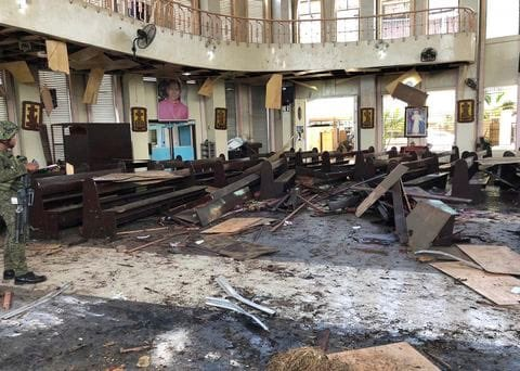 test Twitter Media - Please pray for those killed and injured in the callous bomb blasts at the Cathedral in the southern Philippines, and for the rescue workers assisting. Let us pray too for all the Filipinos living in our Diocese of Portsmouth. https://t.co/dzNGFFth9K