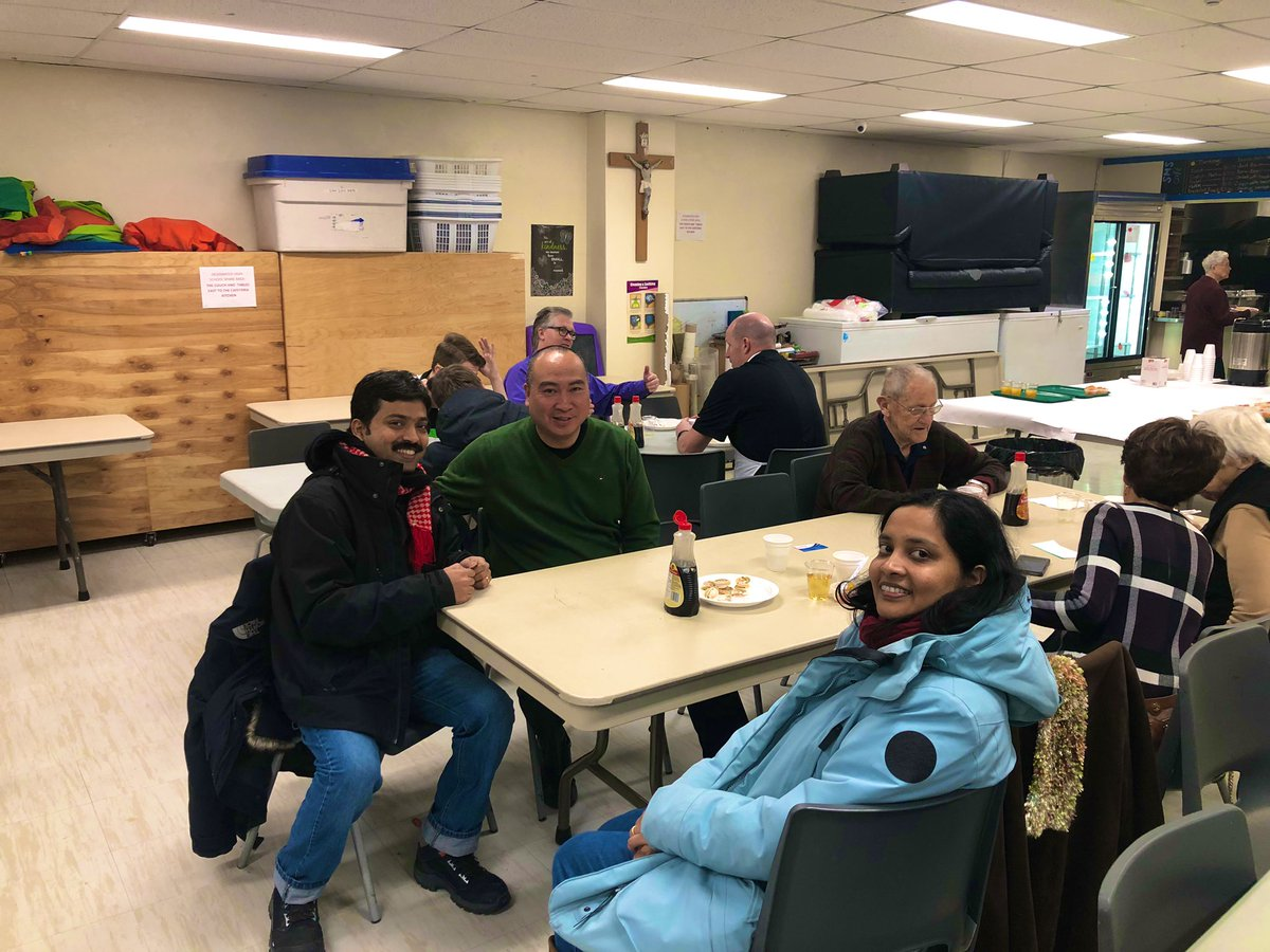 test Twitter Media - Another great pancake breakfast hosted by fellow Knights of Columbus. Events like these are a great way to meet new parishioners and new immigrants to Manitoba such as Meera & Johny Stephen from Kerala, India. Have a blessed Sunday everyone. 🙏#mbpoli https://t.co/oCvm3RT82T
