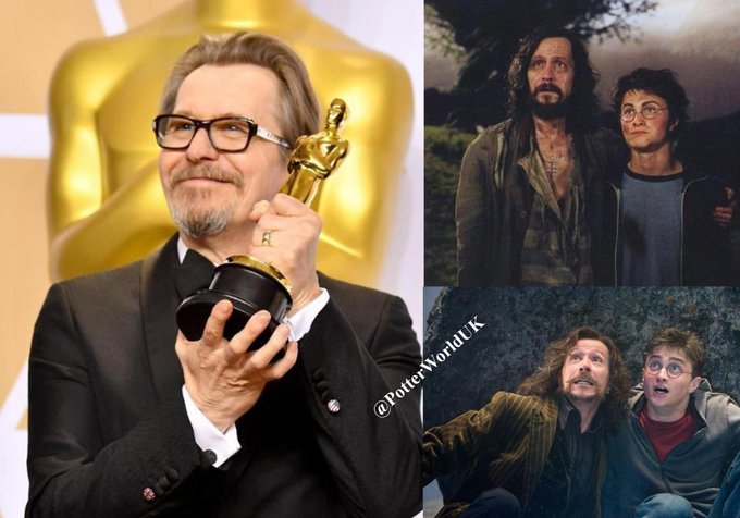Happy 61st Birthday to Gary Oldman! He portrayed Sirius Black in the Harry Potter films.