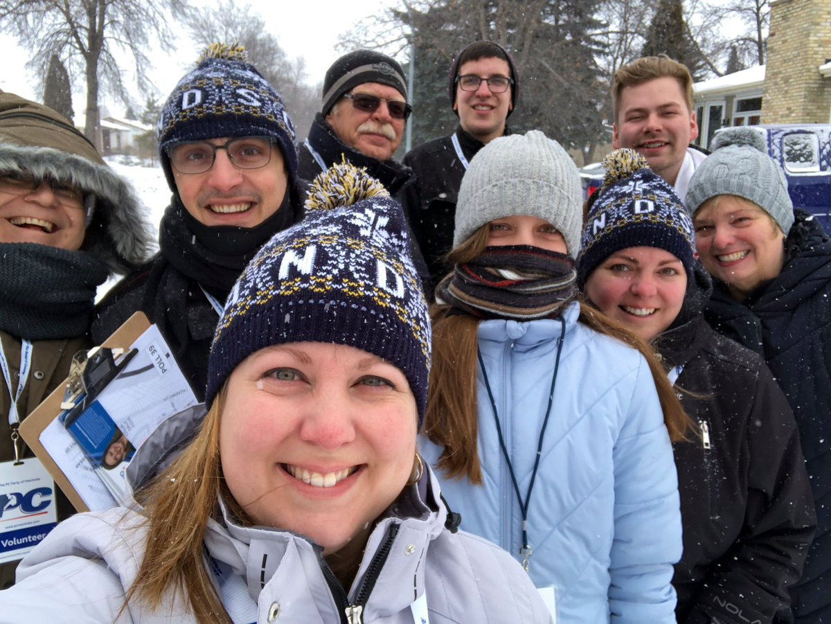 test Twitter Media - Pretty sure we are the 'coolest' door knocking team today! ❄️ 💨  Great time to connect with constituents. #mbpoli https://t.co/UUraKIbCaq