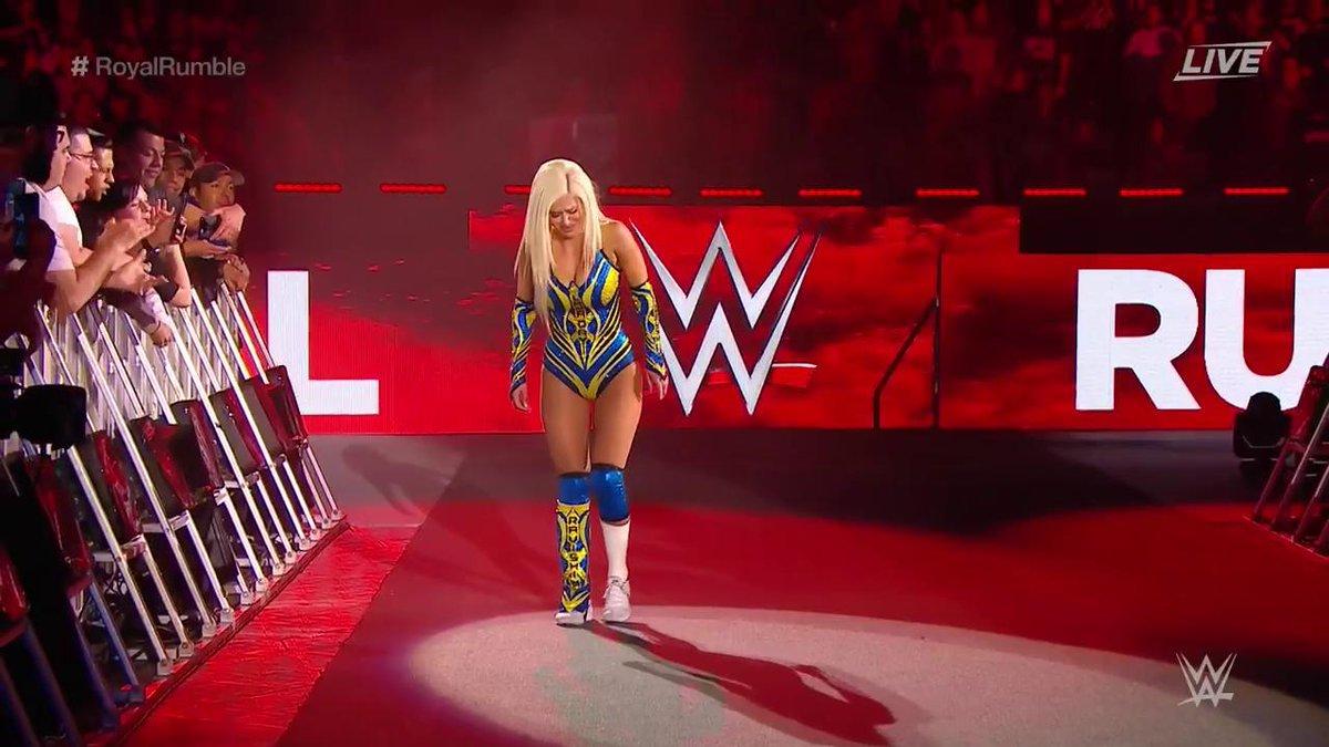 RT @WWE: Can @LanaWWE make it into the match at #2️⃣8️⃣? #RoyalRumble https://t.co/9lnH1uCSE3