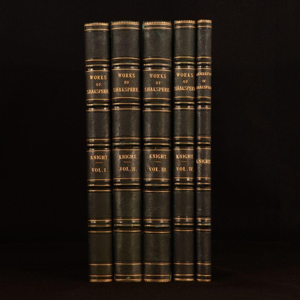 1873-1876 5vol The Works of Shakespeare Biography Charles Knight Uniform Binding https://t.co/B66x3arugC https://t.co/dcmZTWn62U