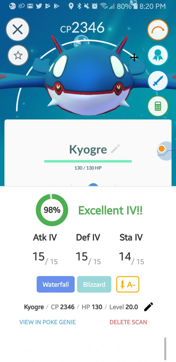 Though I didn't get Shiny Groudon in PoGO today, at least I got this. https://t.co/buAvTz3XKv