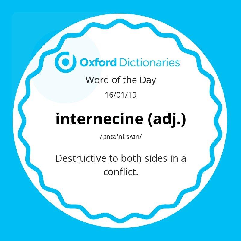 test Twitter Media - Word of the Day: internecine https://t.co/Dl3Z1JJBs6 https://t.co/25qW6sdW2n