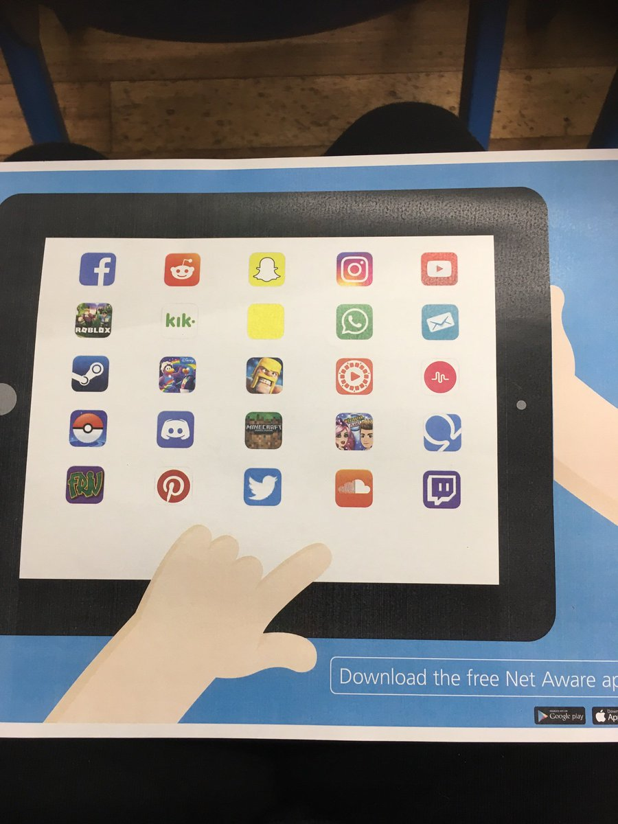 """test Twitter Media - Safe Internet Workshop - Are you 'App to Date?""""  Can you name these apps that your children may be using? @NSPCC @O2 https://t.co/DdBO5ft2hb"""