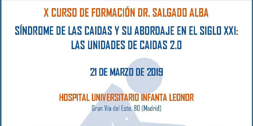 """test Twitter Media - La Sociedad Española de Medicina Geriátrica @semeg_es celebrará la décima edición de los Cursos de Formación Dr. Salgado Alba el 21 marzo, bajo el título """"Síndrome de las caídas y su abordaje en el Siglo XXI: Las unidades de caídas 2.0"""" https://t.co/iSpnr3jXN8 #AESTEinforma https://t.co/2ucgXEstFd"""