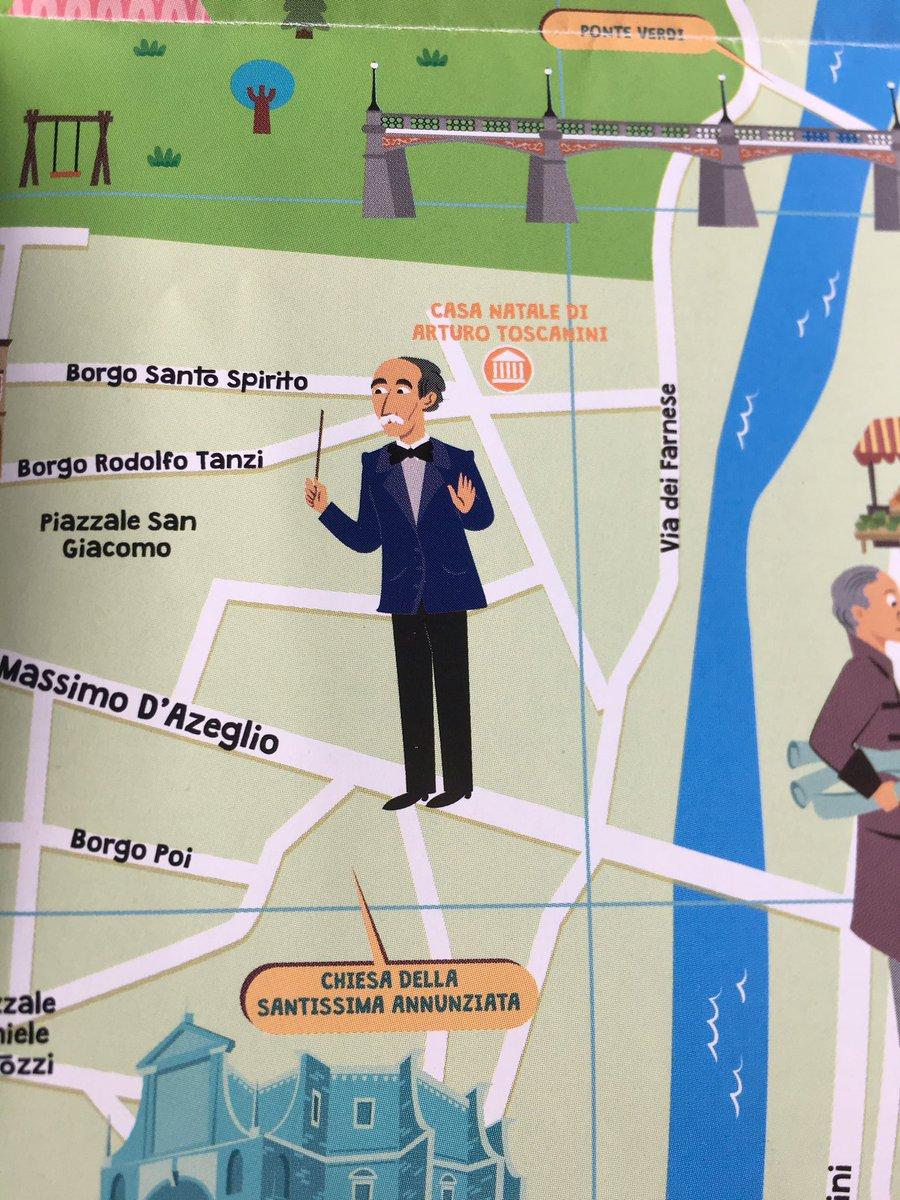 test Twitter Media - Nato a #Parma nel 1867 Arturo Toscanini muore a #NewYork quasi novantenne. È considerato uno dei massimi interpreti di Verdi, Wagner e Beethoven. #lemappechestorie #mappe #bilingue #Italia #bambini #turismo https://t.co/SnfeJC108D https://t.co/z4WaD51zO9