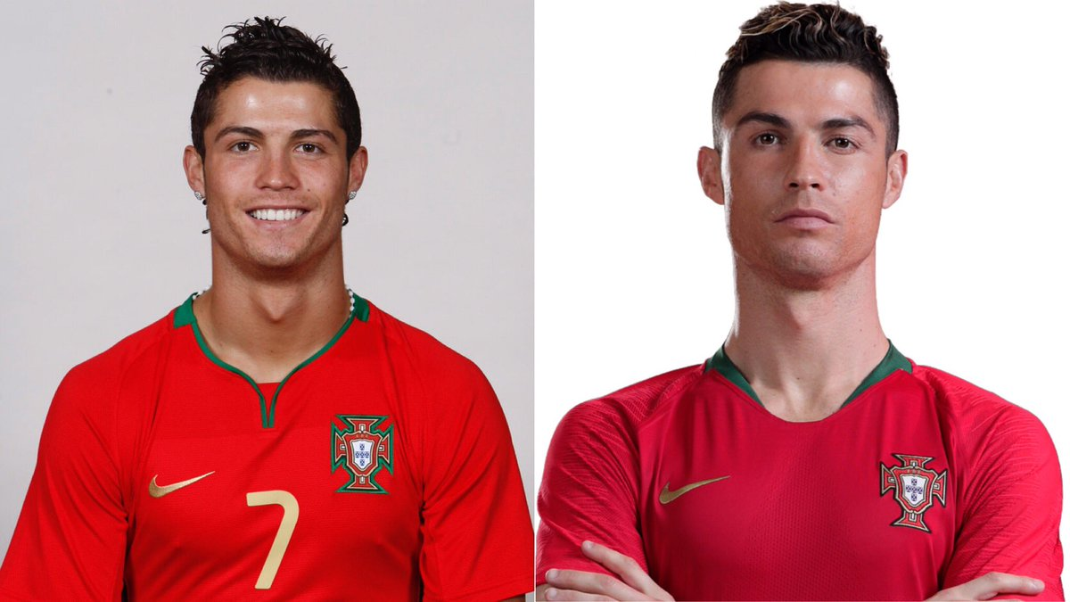 RT @selecaoportugal: 😮 Eles crescem tão rápido... #10YearChallenge #TodosPortugal @Cristiano https://t.co/bRZpDpYM7h