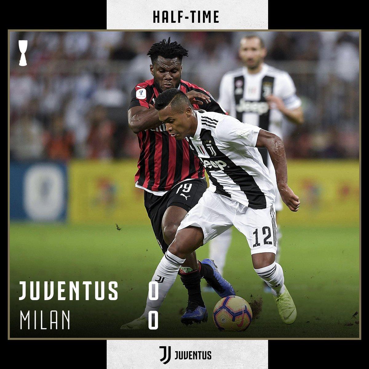 Skor 0-0 menutup babak pertama dalam final Supercoppa Italiana. 📸@juventusfc #ElshintaSport  #SuperCoppa https://t.co/FcEvASBWxs