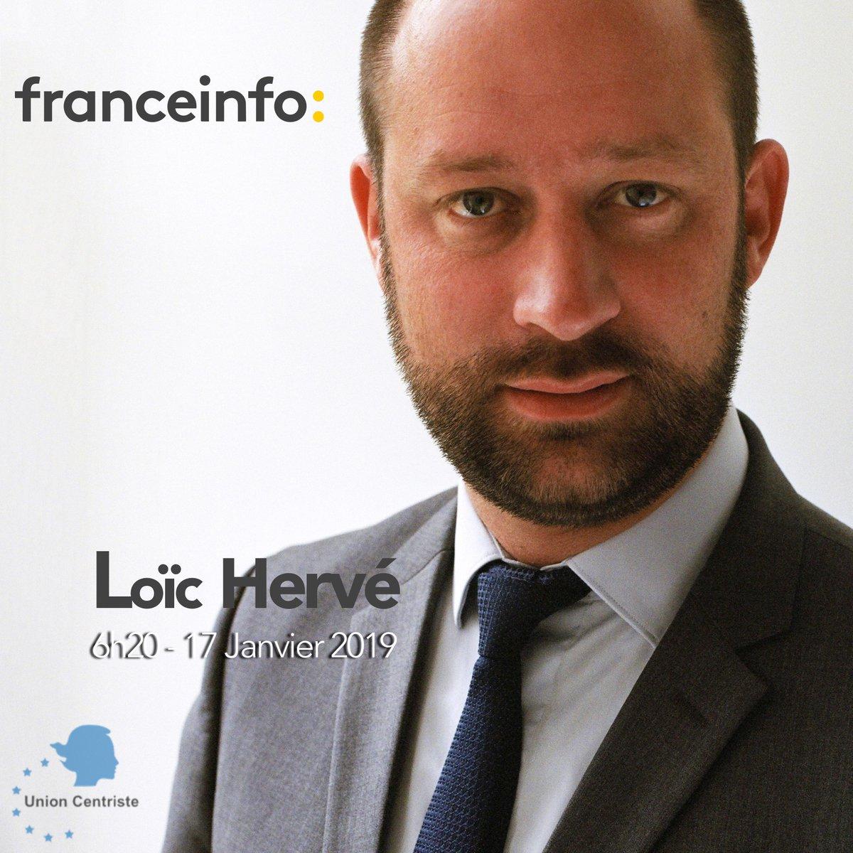 #DANSLESMÉDIAS - Le sénateur @loichervepublic sera sur @franceinfo ce jeudi 17 janvier à 6h20