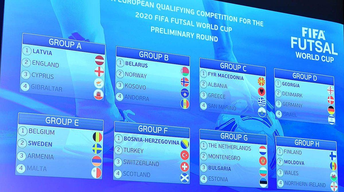 Gegner, Termine, Modus: Die wichtigsten Infos zur WM-Qualifikation im #Futsal ➡ https://t.co/l5GzXjOGP3 https://t.co/eOnQISj806