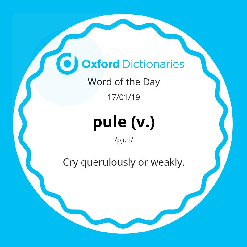 test Twitter Media - Word of the Day: pule https://t.co/yrhr51PWNE https://t.co/TP2qfTo1bn