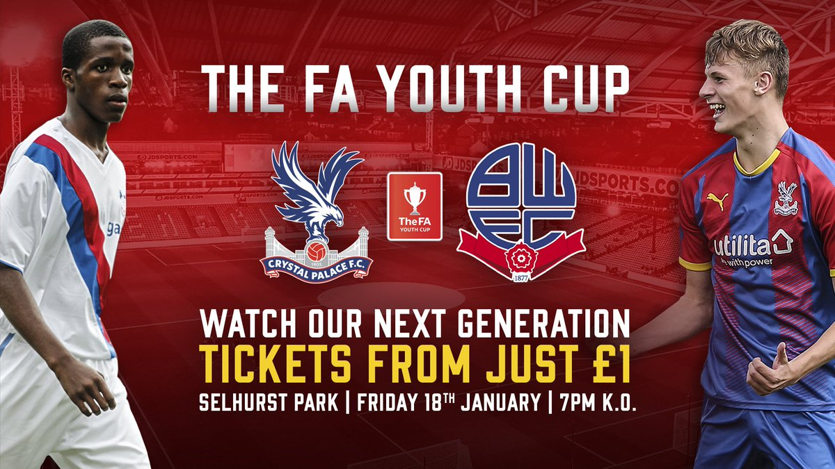 RT @CPFC: Back TQ and his teammates in Friday's FA Youth Cup clash at Selhurst Park! 🙌  🎟 https://t.co/a1WJH4bh32 https://t.co/HRJpRa6kBz