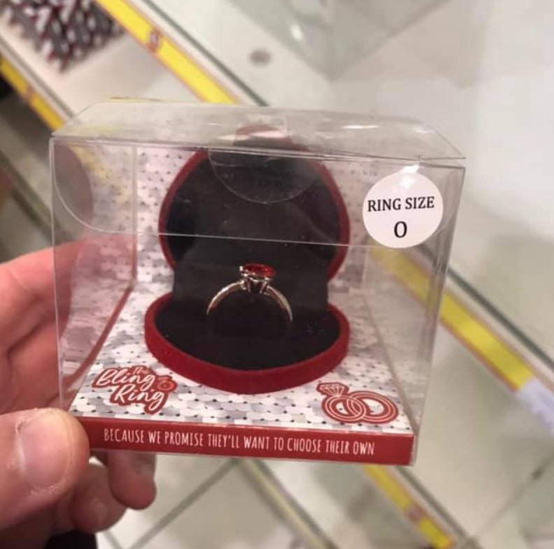 test Twitter Media - Poundland has launched a selection of 'engagement rings' in the run-up to Valentine's Day, with the tagline 'because we promise they'll want to choose their own'. In our experience, many do! View some of our bespoke engagement rings here: https://t.co/ENd9IT6ee3 https://t.co/oeRdMGzK8x