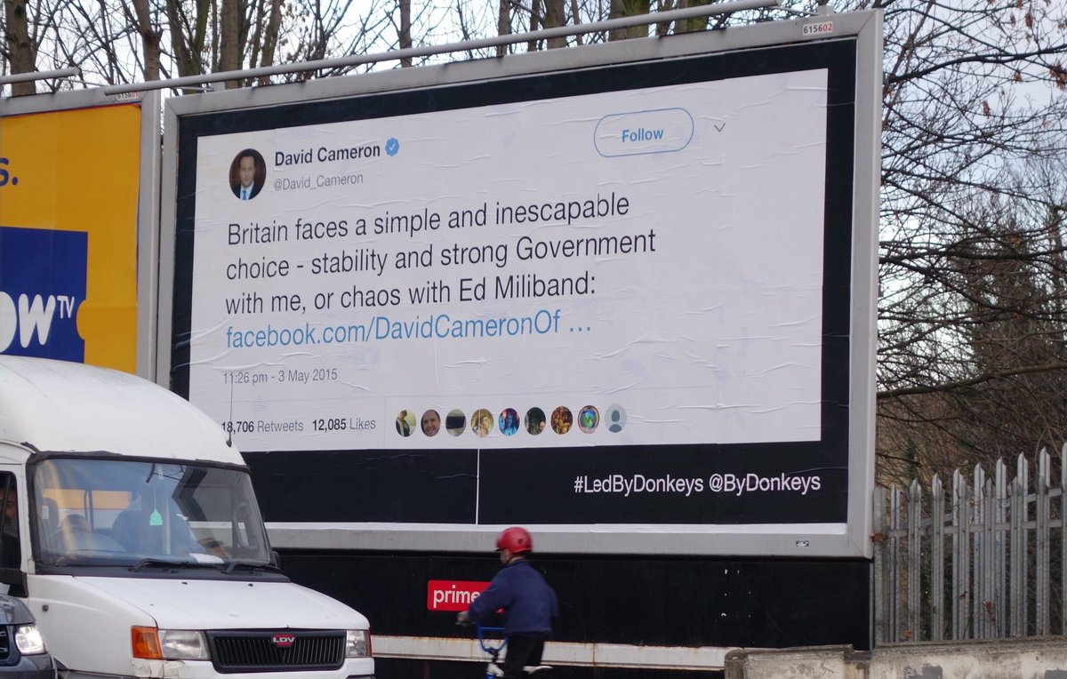 RT @ByDonkeys: You can strike us down, but we will become more powerful than you can possibly imagine #LedByDonkeys https://t.co/S6yvJXi9Sf