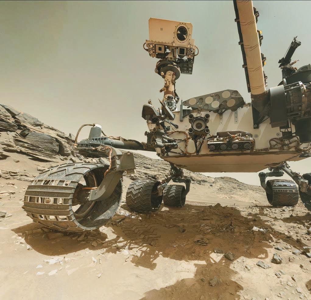 RT @AntonioParis: Curiosity Rover Selfie. #Mars (Credit: NASA) https://t.co/QmEg3YQl6s