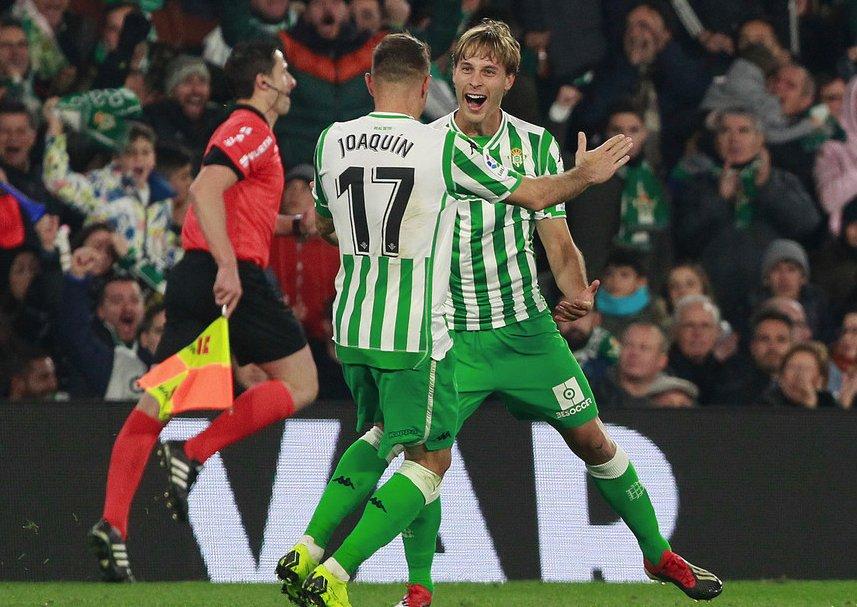 Real #Betis avanza a cuartos de final en #CopadelRey por primera vez desde 2012-13. https://t.co/Y1T7MepEGn