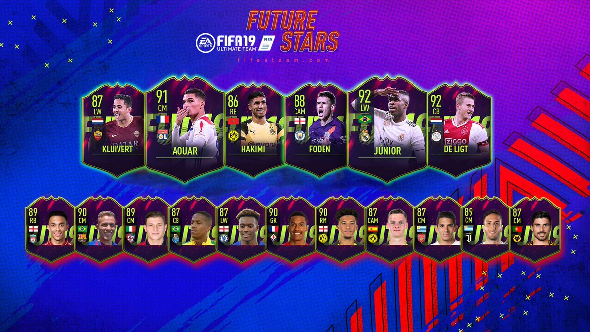Future Stars Players for #FIFA19  (confirmed and predictions) https://t.co/S9QxBCOjmN https://t.co/OCRTWVgznH
