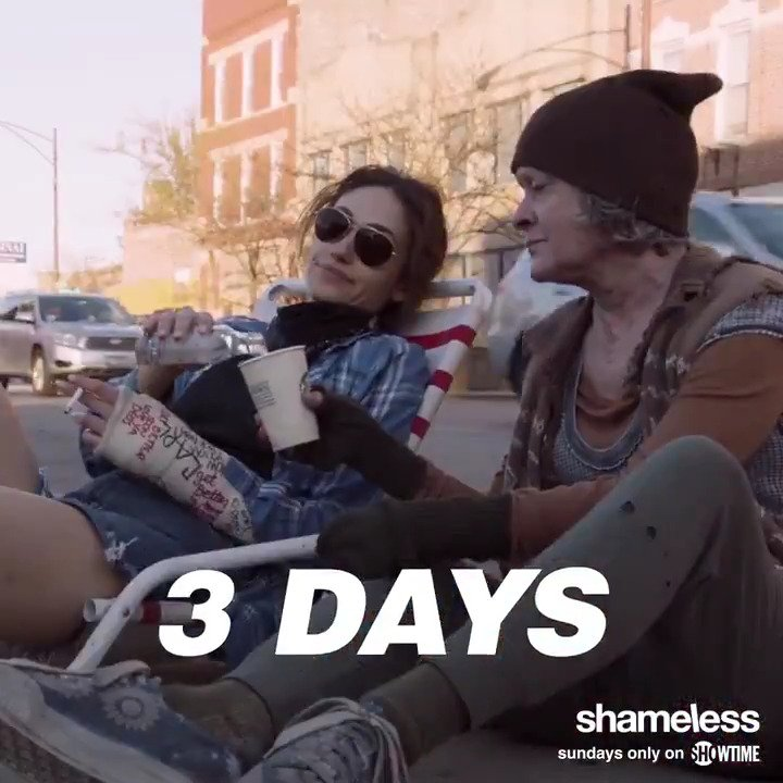 RT @SHO_Shameless: Count 'em, only  3️⃣ days to go until an all-new #Shameless #OnlyOnShowtime! https://t.co/4VzPrhGElc
