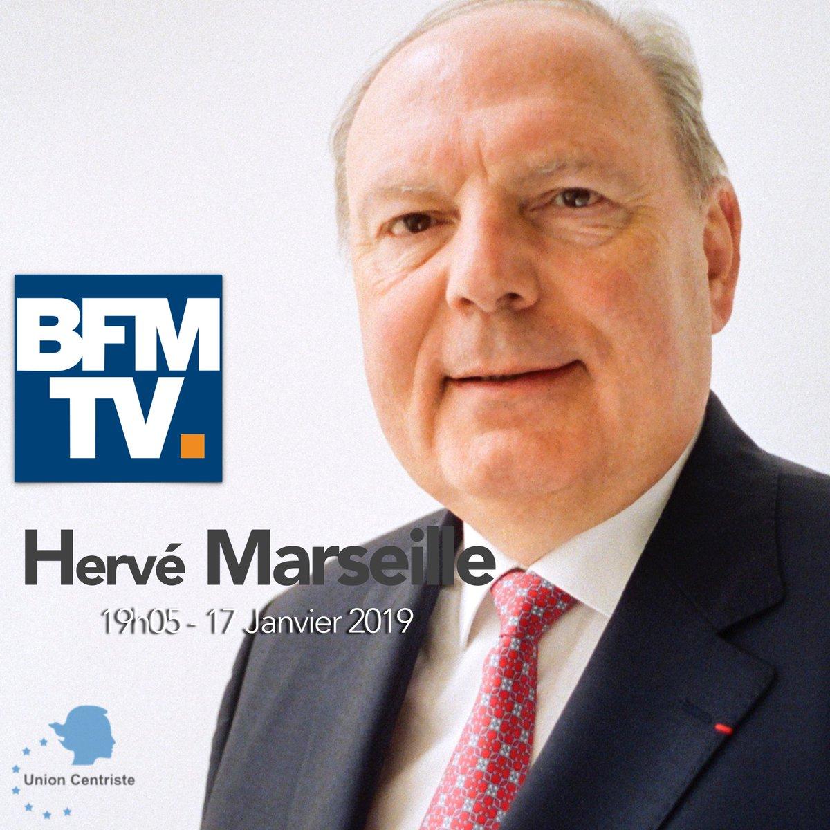 #MÉDIAS #AffaireBenalla - Le Président @HerveMarseille répondra aux questions de @ruthelkrief en direct à 19h05