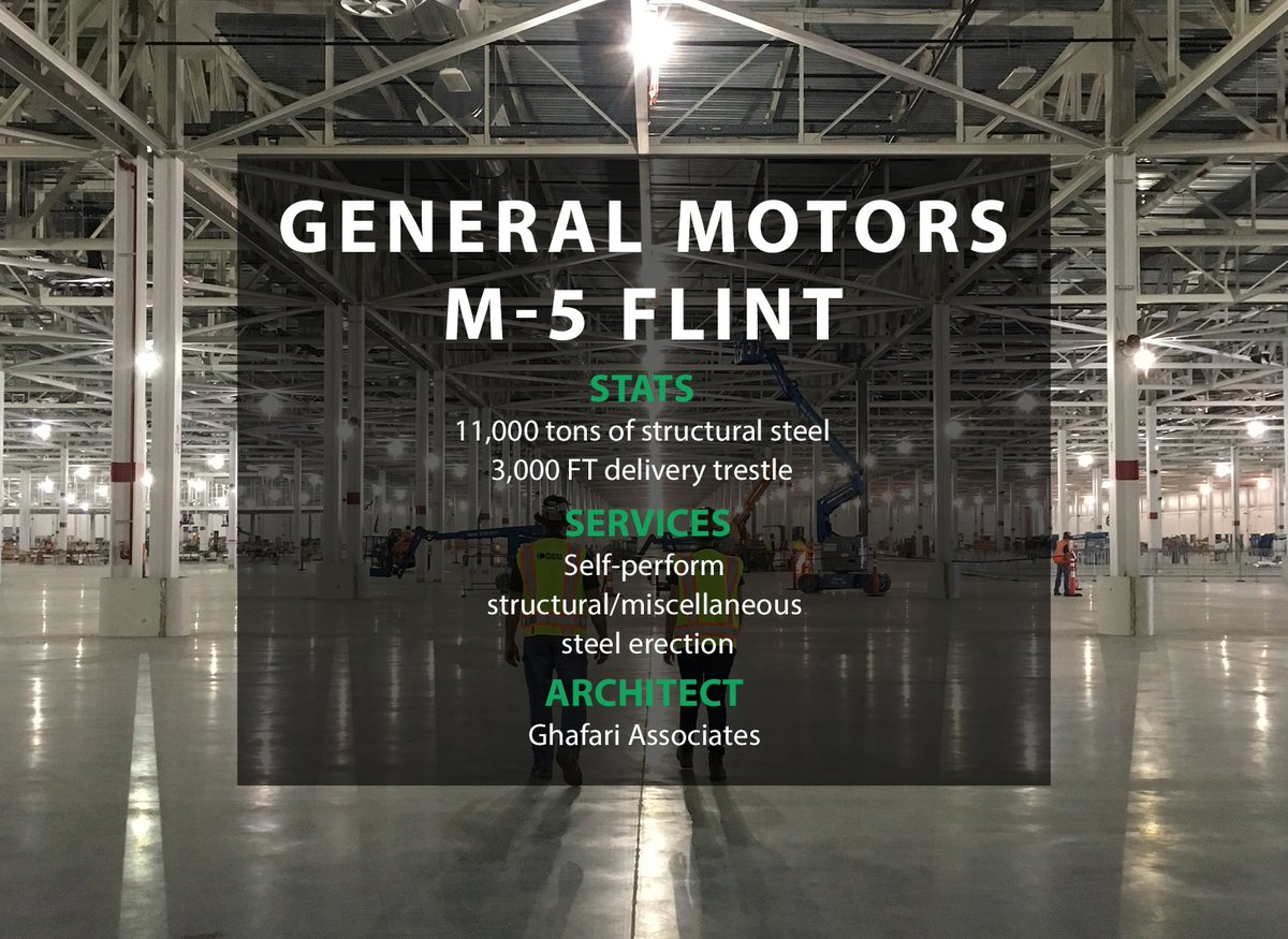 test Twitter Media - #ThrowbackThursday to the General Motors M-5 Flint project. This project included a 3,000 FT delivery trestle. Click the link to read more about this project: https://t.co/cNw0TPmd4W https://t.co/0tYMKStDvz