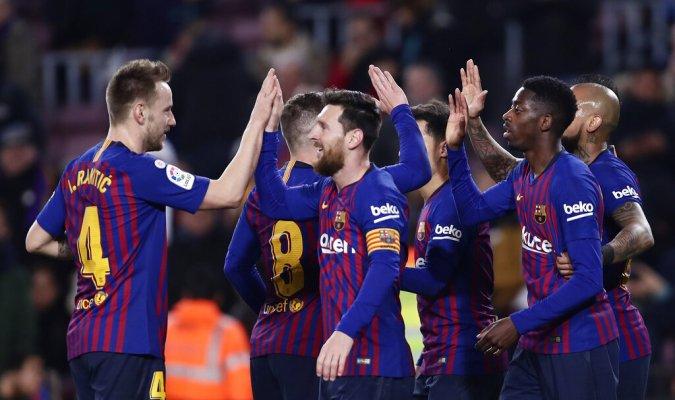 RT @MeridianoTV: #CopaDelRey 🇪🇸 Dembélé y Messi guiaron la remontada del Barca https://t.co/5tUuvDqG4R https://t.co/jLuZEv6tA0