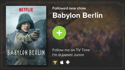 I just added Babylon Berlin to my library! #tvtime https://t.co/pCRx9Lc2iD https://t.co/lRAPkdoPSL