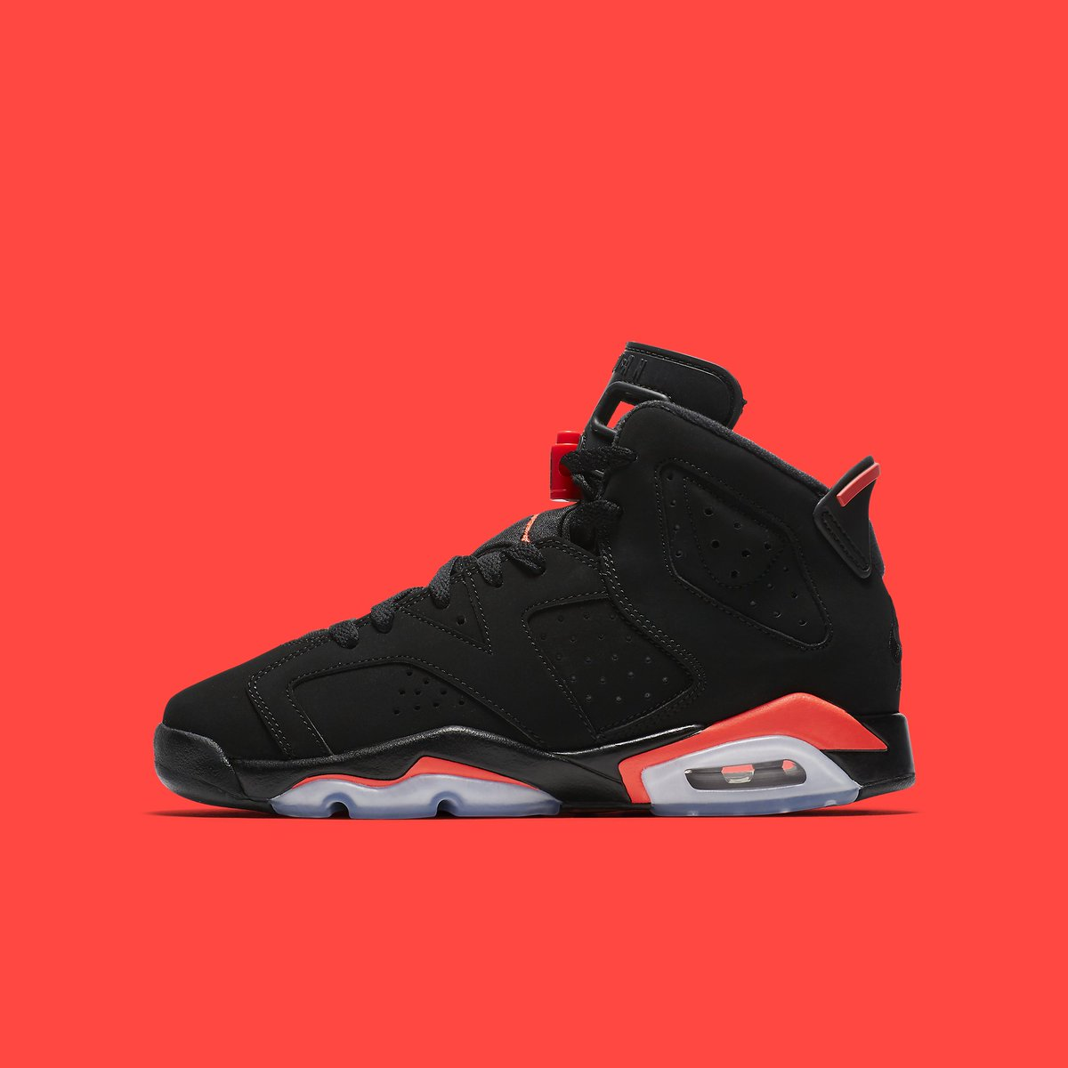 brand new 5a02c 90262 official photos of the infrared air jordan 6 retro in gs sizing releasing  on february 16