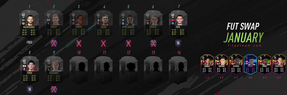 Reminder: 2️⃣ Swap Players expire today! #FIFA19 https://t.co/bO0XTfl5nC https://t.co/bs9MI9yDs9