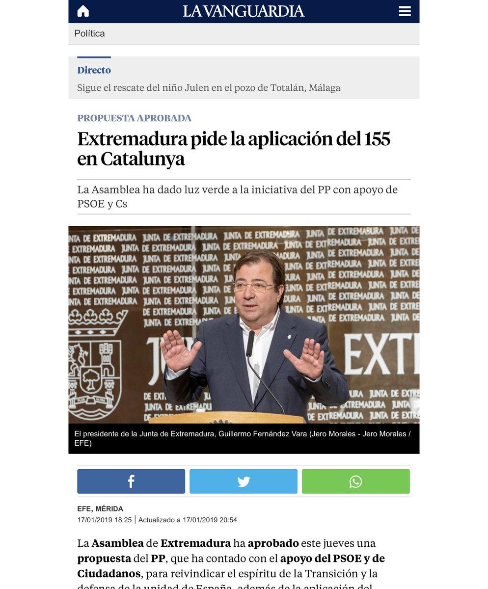 RT @jordiPuignero: Pues yo pido dar a Extremadura el Concierto Económico. https://t.co/GroXPRKFQi