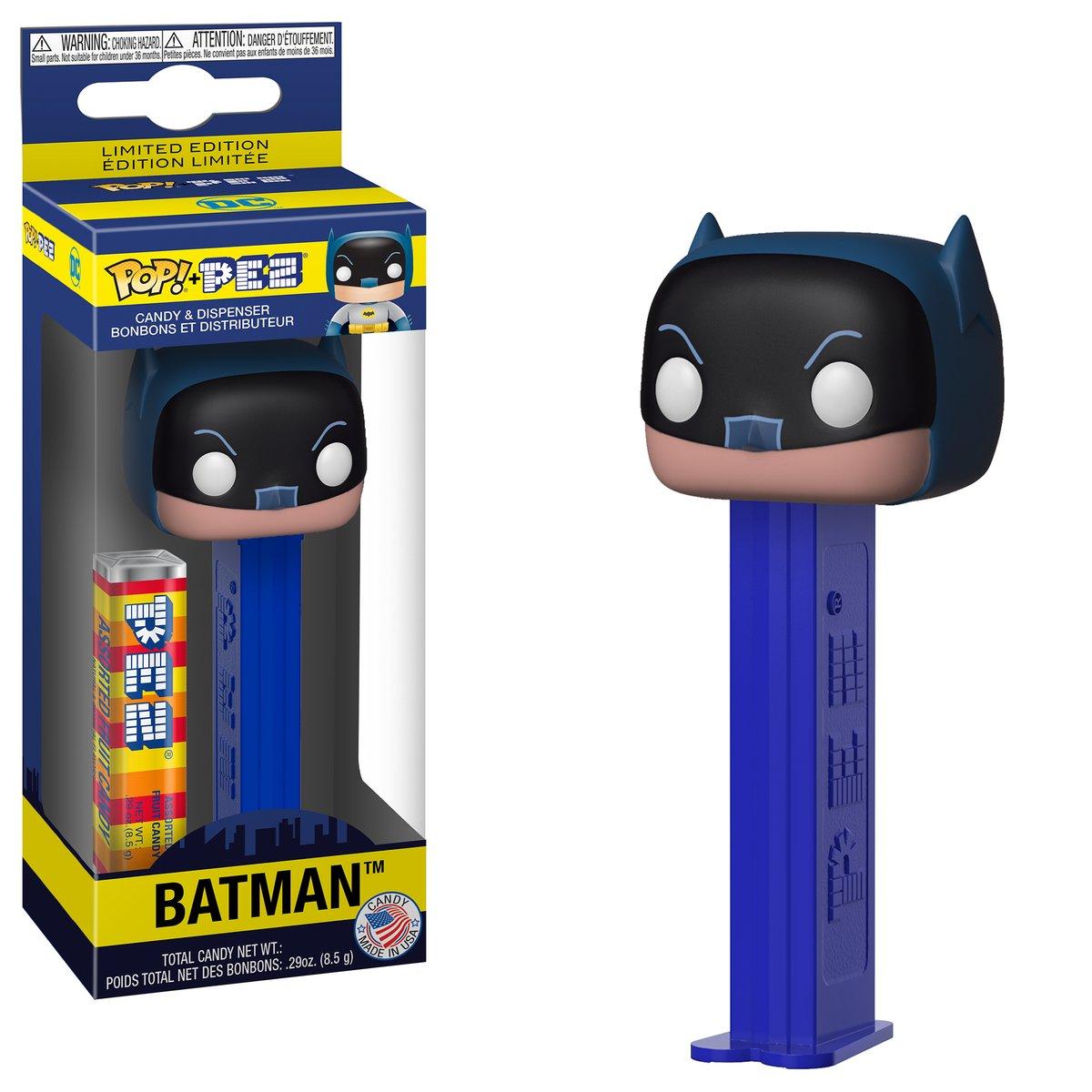 RT @OriginalFunko: RT & follow @OriginalFunko for the chance to win a Batman Pop! PEZ! https://t.co/NdHMHHCDMA