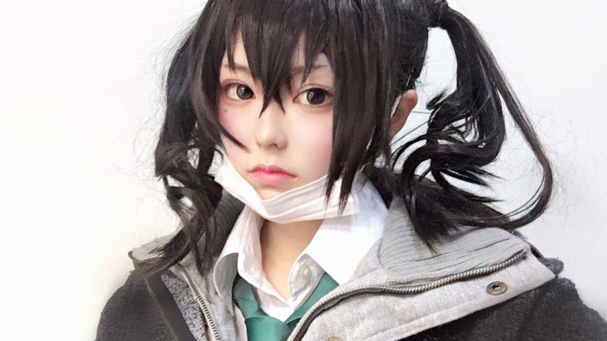 RT @MoChi_cosaka: cosplay / 砂塚あきら  ギザ歯可愛すぎて宅コスしてしまった🦈 https://t.co/VIgReynULK