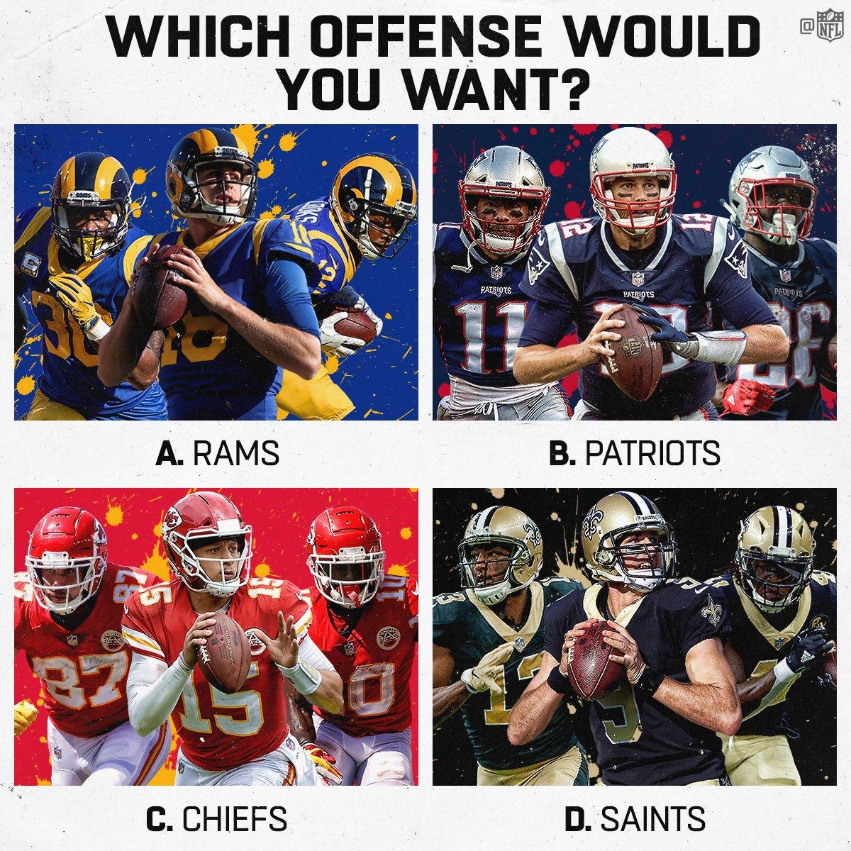 RT @NFL: Offense wins championships? 🤔  Make your pick. #NFLPlayoffs https://t.co/zkK85krbkD