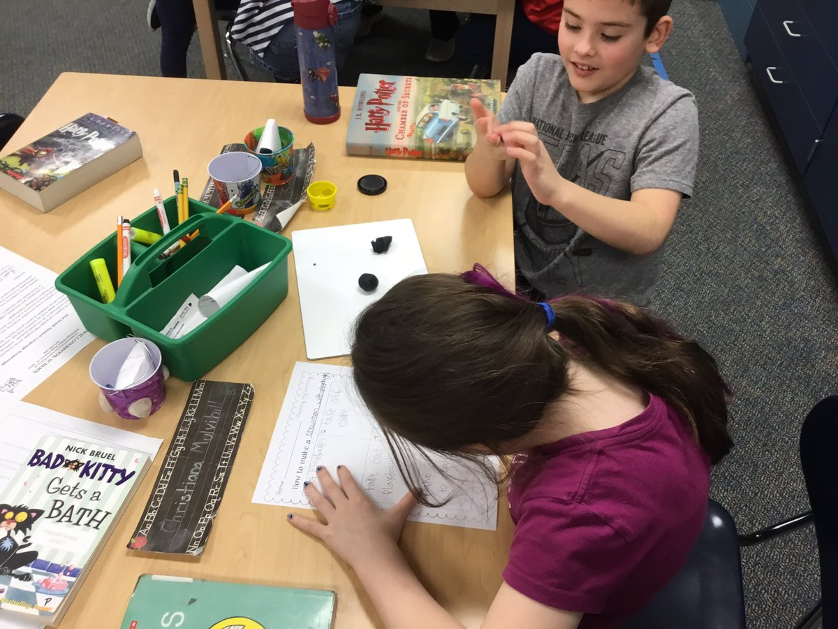 test Twitter Media - Today we modeled how to be specific in our how to writing by building play dough snowmen! #D30learns https://t.co/8cw5ywPgLG