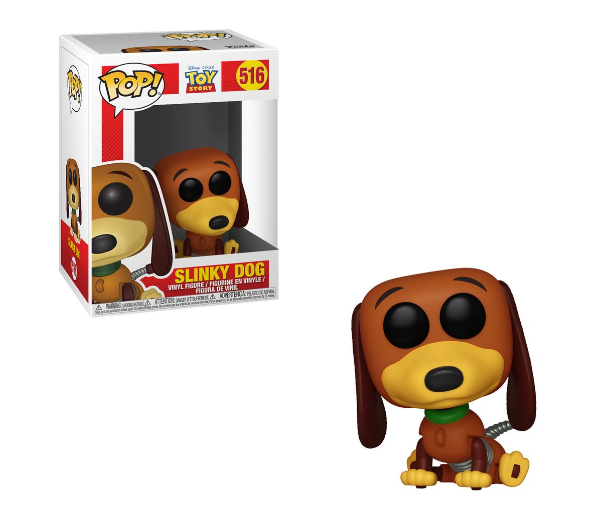 RT @OriginalFunko: RT & follow @OriginalFunko for a chance to WIN a 'Toy Story' Slinky Dog Pop! https://t.co/QNFFGqRngI