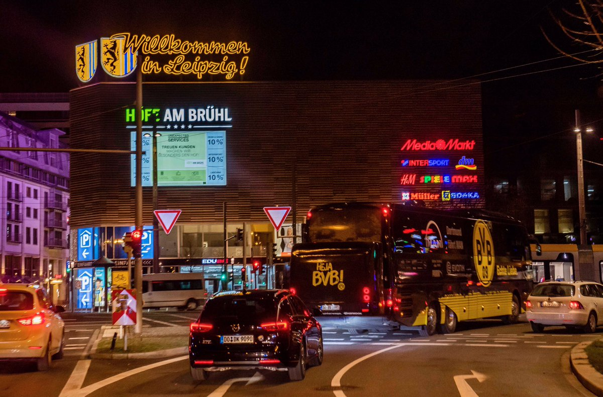 👋 Hallo Leipzig! #RBLBVB https://t.co/XOIzzH3B4j