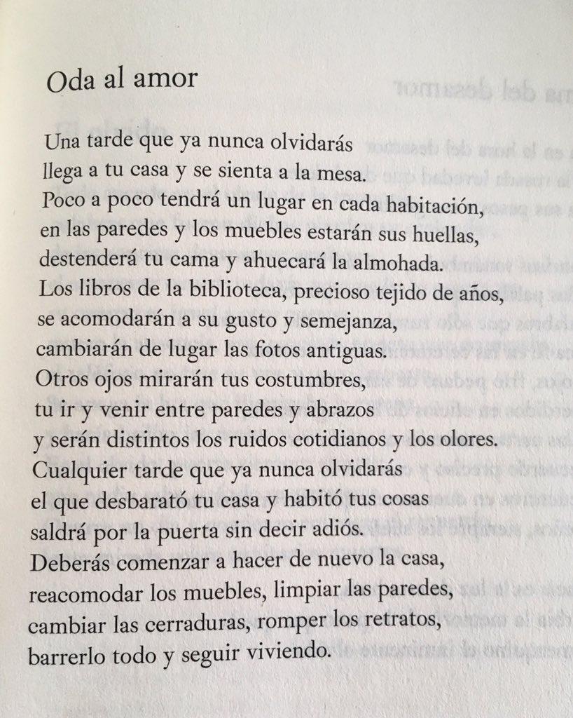 RT @pasdexcuse: María Mercedes Carranza supo cómo explicar el amor, así, sin más. https://t.co/GRcmjrC1cX