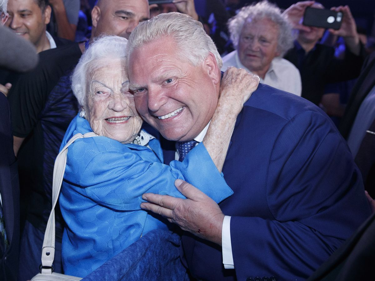 'Hurricane Hazel' McCallion appointed adviser to Premier Doug Ford @GlobeToronto