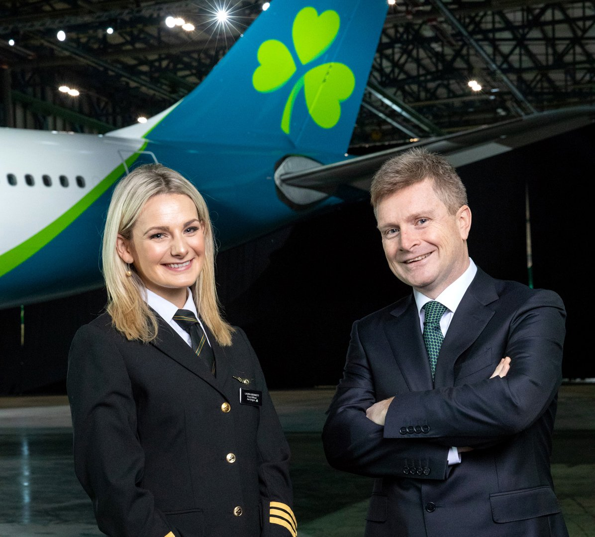 The Girl with the Shamrock Tattoo! Aer Lingus - #Ireland : https://t.co/xNvwctTE9R https://t.co/uigHtGQKW5
