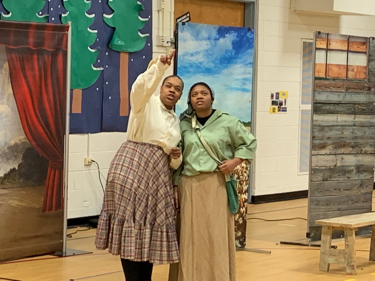 test Twitter Media - Thank you to great works theater for joining us today with their wonderful Harriet Tubman road to freedom performance #d30learns https://t.co/PyCqtO4q5B
