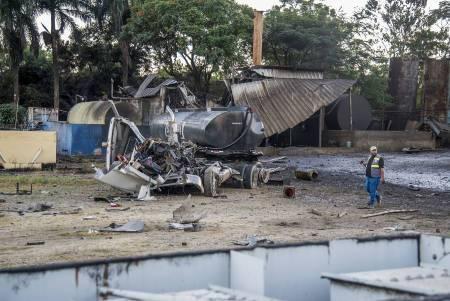 Suben a cinco los muertos por explosión en planta deaceite https://t.co/m6HLgOQaoz https://t.co/ave5gw6KiA
