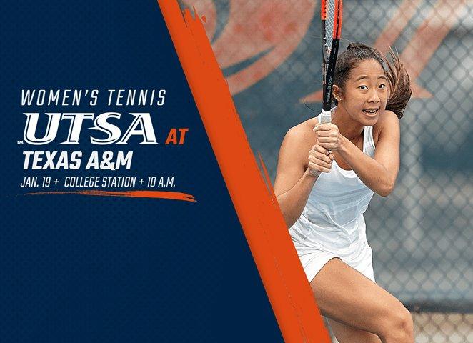 Women's tennis opens 2019 Saturday at TexasA&M https://t.co/fv7QAXXBwT https://t.co/j4KASVzXDx
