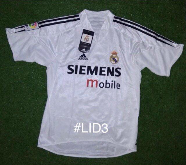 Jersey JamaN LOS GALACTICOS Real Madrid Home 2004-05 BNWT baru 100rb saja.. #LID3 https://t.co/gbVn7xXYRn