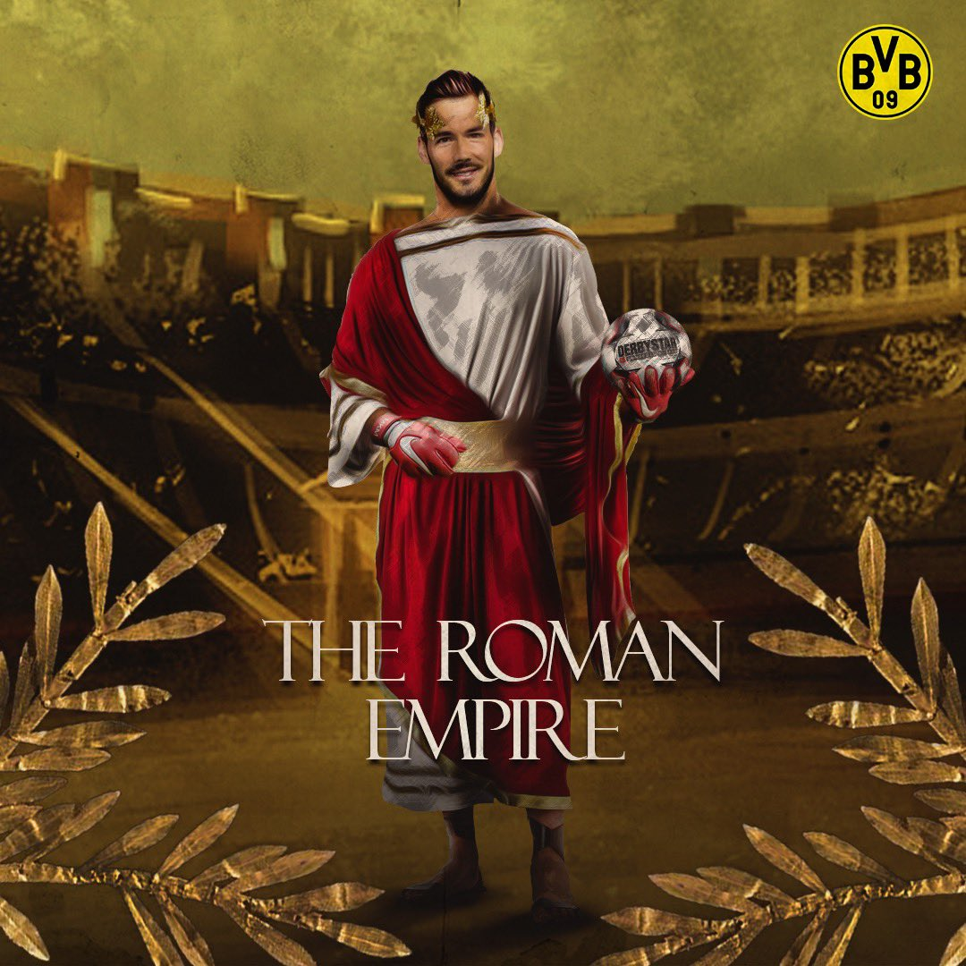 5 Saves 🧤 2 Punches 🥊  Clean Sheet ✅  The Roman Empire 🤴 https://t.co/FnzPxYhZbq