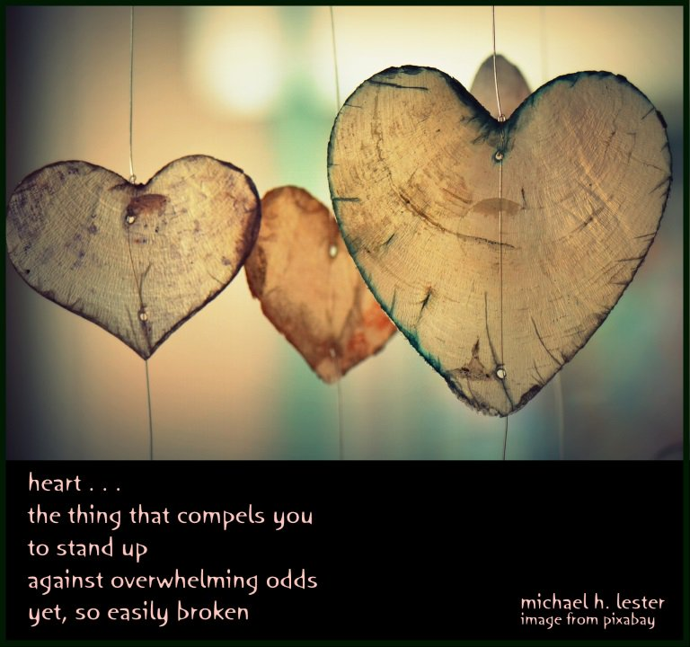 #tanka #kyoka #haiku #senryu #haiga #micropoetry  heart . . . the thing that compels you to stand up against overwhelming odds yet, so easily broken https://t.co/lAcBbVkzms